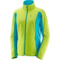 Jaqueta Salomon Drifter Mid Jacket Feminina - Feminino-Verde