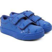 Tênis Infantil Lacoste Straighset Masculino - Masculino-Azul