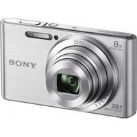 Câmera Digital Sony Dsc-W830 20Mp/8X/Hd Prata