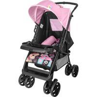 Carrinho De Bebê Reversivel Tutti Baby Sup Rosa