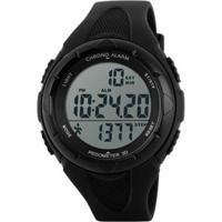 Relógio Skmei Pedômetro Digital Masculino - Masculino-Preto