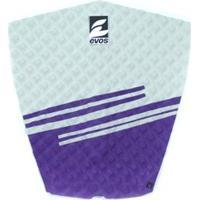 Deck Pad Antiderrapante Evos Para Prancha De Surfe Stripes Ii Azul Claro E Cinza - Unissex