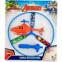 Lançador De Helicóptero Vingadores Toyng Azul