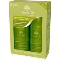Kit Inoar Argan Duo Shampoo 250Ml + Condicionador 250Ml - Feminino-Incolor