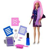 Boneca Barbie - Cabelos Coloridos - Mattel