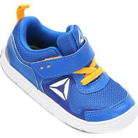 Tênis Reebok Vflex Stride 5 Infantil - Masculino-Azul+Marinho