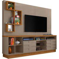 Home Theater Heitor Cinza/Naturale Madetec