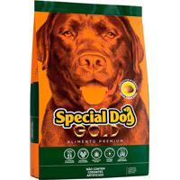 Ração Cães Adultos Special Dog Gold Premium Sabor Carne 20Kg