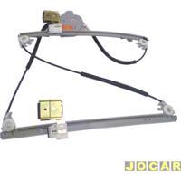 Máquina De Vidro - Santana 1999 Até 2006 - Elétrica Para Motor Bosch 10 Dentes - Lado Do Passageiro - Cada (Unidade)