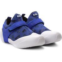Tênis Infantil Bibi 2Way Velcro Masculino - Masculino-Azul