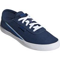 Tênis Adidas Courtflash Feminino - Feminino-Cinza+Azul