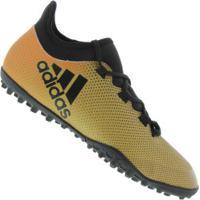 7afac7dbd0 Chuteira Society Adidas X Tango 17.3 Tf - Adulto - Ouro