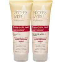 Kit De Shampoo & Condicionador Reparador De Danos- Jacqujacques Janine