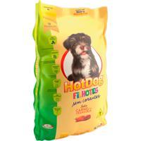 Ração Para Cães Hotdog Filhotes Sabor Carne E Frango 3Kg