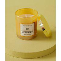 Vela Aromatizada - Vela Ice Tea M Cor: Amarelo - Tamanho: Único