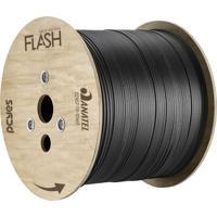 Cabo Fibra Óptica Bobina Com 1Km Pcyes Pn1Folfsh01 Flash Preto