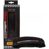 Pneu Bike 700X23 Pirelli Corsa Pro Speed Kevlar Pro 120 Tpi - Unissex