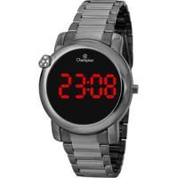 Relógio Champion Digital Ch48064C Feminino - Feminino-Grafite