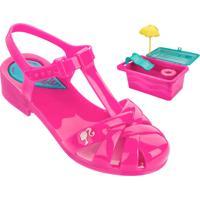 Sandália Infantil Barbie Brinde Grendene Kids