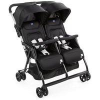 Carrinho De Bebê Para Gêmeos Ohlalá Twin Black Night -Chicco