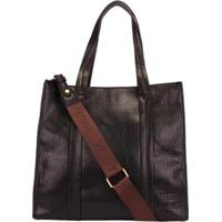 Bolsa Mormaii Shopping Bag Alongada Feminina - Feminino-Preto