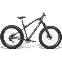 Bicicleta Gts Fat Aro 26 Com Freio A Disco 9 Marchas Câmbio Shimano, Quadro De Alumínio | Gts M1 I- Unissex