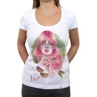 Libriana - Camiseta Clássica Feminina