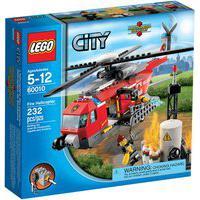 Lego City - Helicóptero De Bombeiros - 60010