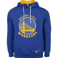 Blusão De Moletom Nba Golden State Warriors N151A - Masculino - Azul