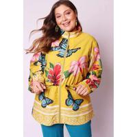 Jaqueta Almaria Plus Size Munny Parka Estampada Am