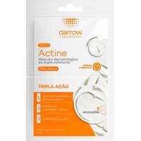 Actine Darrow Máscara Facial Esfoliante 2 Sachês 5G Cada