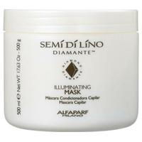 Alfaparf Semi Di Lino Diamante Illuminating Mask - Máscara 500G - Feminino