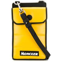 Moncler Capa Para Celular Com Logo - Preto