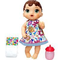 Boneca Baby Alive - Hora Do Xixi - Morena - E0499 - Hasbro E0499