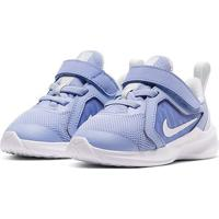 Tênis Infantil Nike Downshifter 10 - Unissex-Azul Claro+Branco