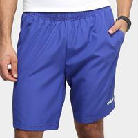 Bermuda Adidas Essentials Ripstop Masculina - Masculino-Azul+Branco
