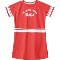 Vestido Lilica Ripilica Bebê 1010983333276 Vermelho