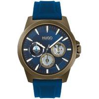 Relógio Hugo Boss Masculino Borracha Azul - 1530130