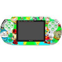 Console Portátil Joyful 500 Jogos - Verde