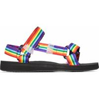 Arizona Love Sandália Rainbow Trekky - Preto