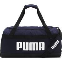 Bolsa Puma Challenger Duffel Bag Azul-Marinho