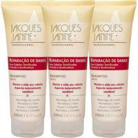 Kit De Shampoo Reparação De Danos- 240Ml- Jacques Jajacques Janine