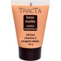 Base Facial Matte Tracta Média Cobertura 04 - Feminino-Incolor