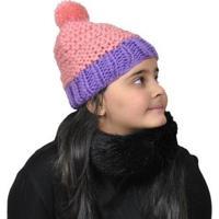 Gorro Infantil Ania Store Mimosa - Feminino-Rosa