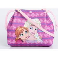 Bolsa Infantil Estampa Frozen Anna E Elsa Disney