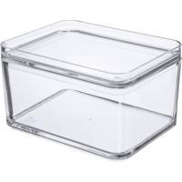 Pote Multiuso Mod 1 Litro Transparente Coza