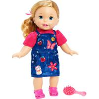 Boneca Bebê - Little Mommy - Doce Bebê - Vestidojeans - Mattel