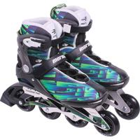 Patins Inline Rollers Verde - 39 Mormaii