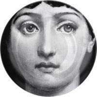 Fornasetti Prato Retrato - Preto