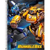Caderno Espiral Transformers Bumblebee E Megatron - Tilibra